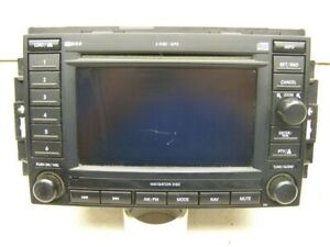 2005 Chrysler 300 Dvd Player Navigation Radio Rec Oem