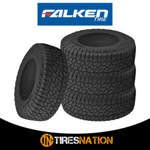 4 Falken Wild Peak A t3w Lt35x12 50r17 E 121r All Terrain Any Weather Tires