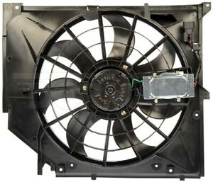 New Engine Radiator Cooling Fan Assembly With Controller Dorman 621 199