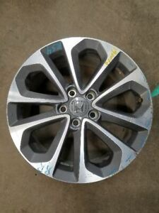 Wheel 18x8 Alloy Gray Inset Fits 13 15 Accord 827121