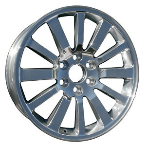 Aftermarket Brand Parts New 20x8 5 Alloy Wheel Polished Full Face 560 5258