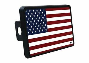 Usa American Flag Trailer Hitch Cover Plug Us Patriotic Old Glory Veteran Gift