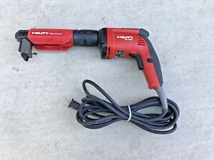 Hilti Sd 4500 Corded Drywall Screw Gun Screwdriver W Smi 55 Autofeed Attachment