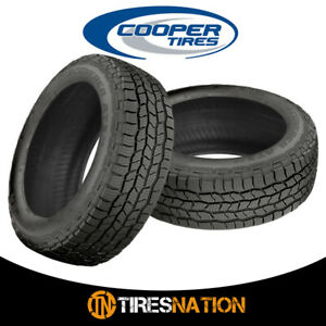 2 New Cooper Discoverer At3 4s 225 70r16 103t Tires