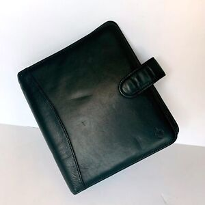 Vintage Franklin Covey Classic Full Grain Leather Planner 1 25 7 Ring Binder