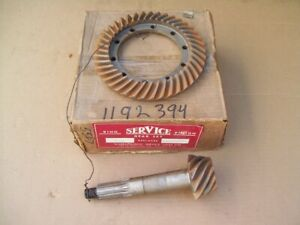 Nors 1937 52 Plymouth Dodge Truck Desoto Chrysler 4 10 Ring And Pinion Set