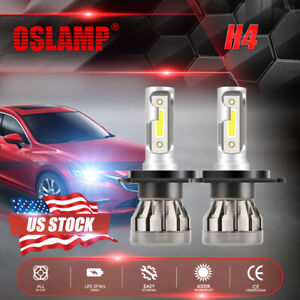 Mini H4 Hb2 9003 1500w 225000lm Led Headlight Kit Hi Lo Power Car Fog Bulb 6000k