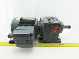 Sew eurodrive R37dt171c4 tf is 45 1 Ratio 0 25kw 38rpm 277 480v Gear Motor