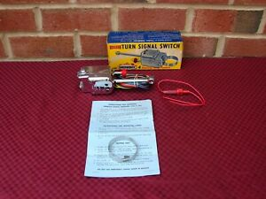 30s 40s 50s Nos Directional Turn Signal Switch Kit Street Rod Ford Chevy Gm Mopa