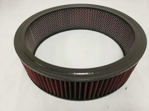 Universal Washable 14 X 4 Round High Flow Air Cleaner Filter Element 14 X 4