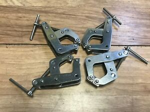 Lot Of 4 Kant Twist Clamps Stainless Steel 2 No Ss 505