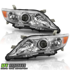 For 2010 2011 Toyota Camry Oe Style Headlights Headlamps Replacement Left Right