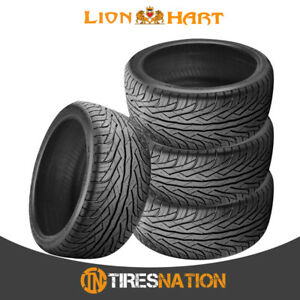 4 New Lionhart Lh three 245 35r20 95w High Performance All season Tires