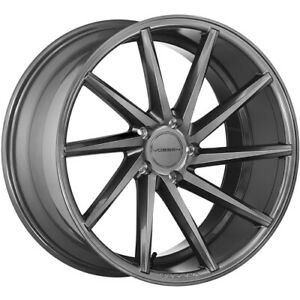 4 Staggered 20x9 20x10 5 Vossen Cvt Gray 5x112 32 30 Wheels Rims