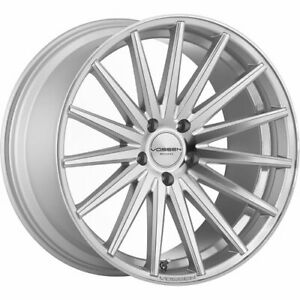 4 Staggered 20x9 20x10 5 Vossen Vfs2 Silver 5x112 32 30 Wheels Rims