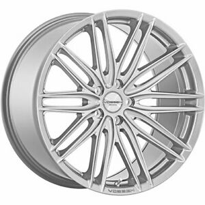 4 Staggered 20x8 5 20x9 5 Vossen Vfs4 Silver 5x112 40 40 Wheels Rims