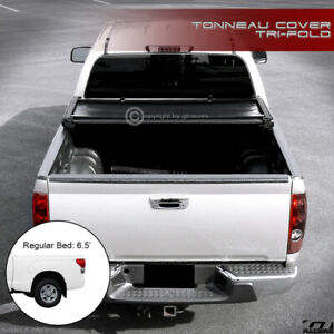 For 2014 2019 Tundra Regular Double Cab 6 5 78 Bed Tri Fold Soft Tonneau Cover