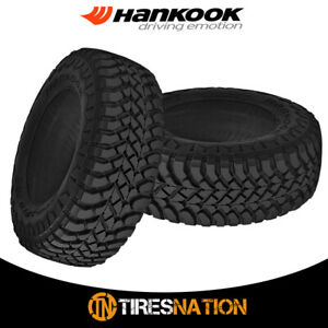 2 New Hankook Rt03 Dynapro Mt 35x12 50r17 121q E 10 Bw M s All Terrain Mud Tires