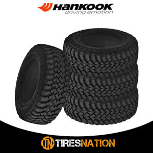 4 New Hankook Rt03 Dynapro Mt 35x12 50r17 121q E 10 Bw M s All Terrain Mud Tires