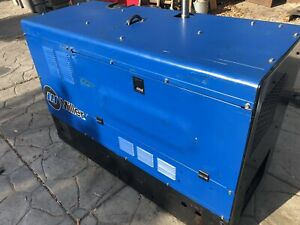 Miller Big Blue 400d Welder Generator 2 200 Hours