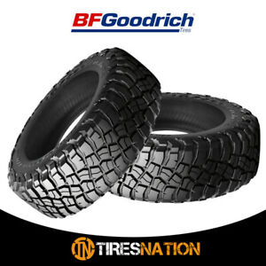 2 New Bf Goodrich Mud terrian T a Km3 35x12 50r17 10 121q Tires