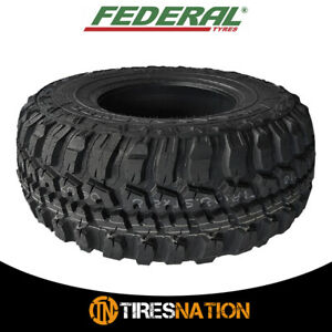 1 New Federal Couragia M T 31x10 50r15 All Terrain Mud Tires