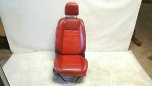 2005 2009 07 Ford Mustang Seat Leather Front Passenger Right Man Red Oem T50859