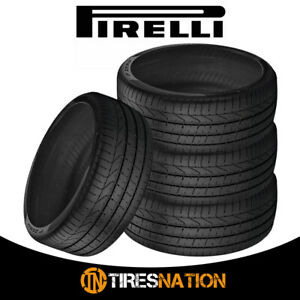 4 New Pirelli Pzero 295 30sr20 101y Mo1 All Season Performance Tires