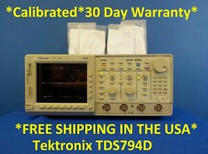 Tektronix Tds794d 2ghz 4gs s 4ch Digital Phosphor dpo Oscilloscope Tek Tds 794