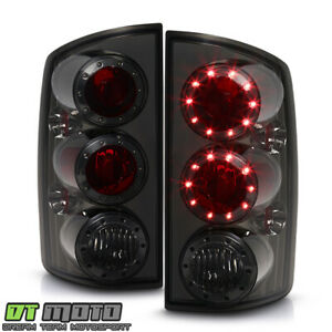 Smoked 2002 2006 Dodge Ram 1500 03 06 Ram 2500 3500 Truck Led Tail Lights Lamps