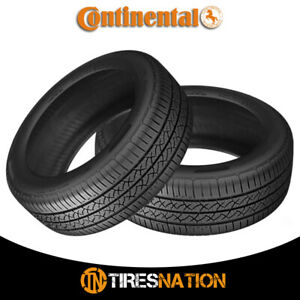 2 New Continental Truecontact Tour 205 60r16 92t Tires