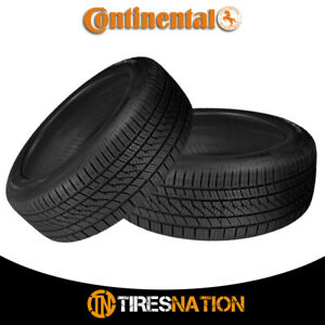 2 New Continental Purecontact Ls 225 50r17xl 98v Tires