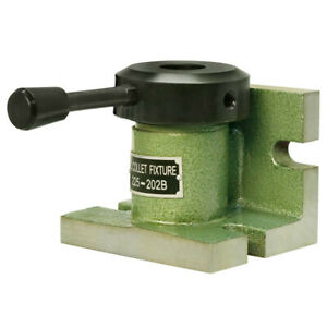 Horizontal vertical 5c Collet Holder Fixture Chuck Cam Operated