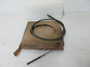 Mopar Nos 1962 64 Plymouth Dodge B Body Front Parking Brake Cable 2401308