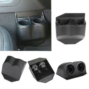 Abs Plastic Black Travel Water Dual Cup Holder For Corvette C5 C6 Gmc 97 13 New