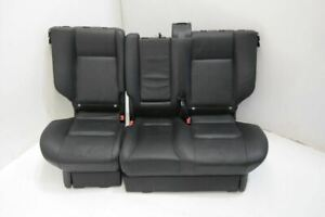 2006 2009 Rear Second Row Seat Assembly Black Leather