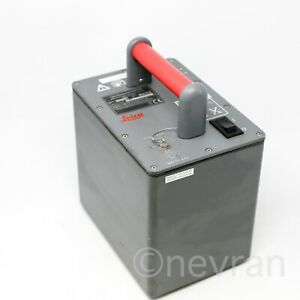 Leica Power Supply Battery For Leica Geosystems Scanstation 2 Scanner