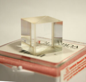 Polarized Beam Splitter Cube High Power 355nm Optically Contacted Fused Silica