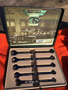 Snap On Limited Edition 75th Anniversary 5 Piece Wrench Set Oex705banvx