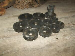 South Bend Sheldon Lathe Change Gear Gears Set