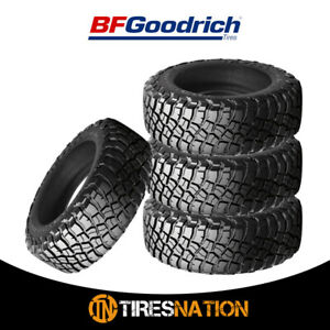 4 New Bf Goodrich Mud Terrain T A Km3 33x12 50r18 10 118q Tires