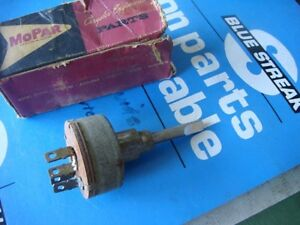 62 63 Dodge Plymouth Heater Switch