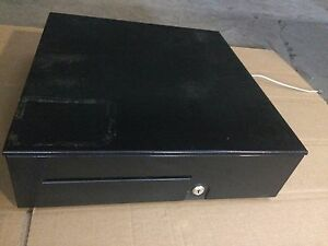 Cash Drawer Model T2115 bl1616 Inner Drawer And Housing With Key At Connection