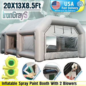 Spray Booth Inflatable Paint Booth With Blowers Mobile Portable Car Job Tent Usa