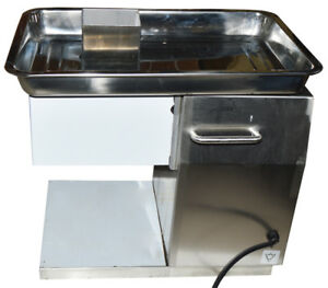 Commercial Meat Slicer With 5mm Blade 250kg h Meat Cutter 500w Slice