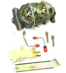 Gm Style Zinc Master Cylinder With Disc Disc Proportioning Valve Disc Brake Kit