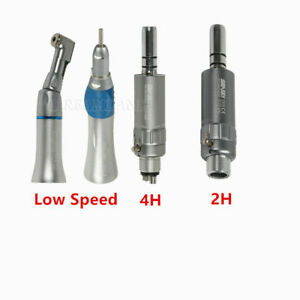 2 4 h Dental Slow Speed Contra Angle Air Motor Straight Handpiece For Nsk Ex203c