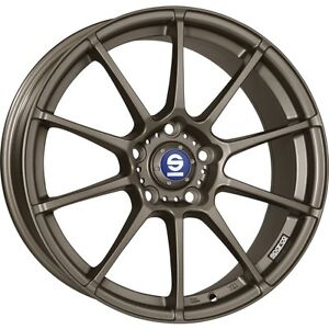 Alloy Wheels Winter Tyres Sparco All assetto Gara Bronze Hankook 16 Inch