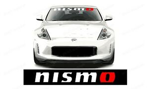 Nismo Windshield Banner Decal For 350z Gtr And For All Nissan Vehicles
