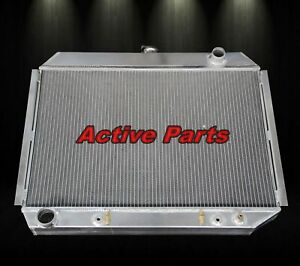 3 Rows Aluminum Radiator Fit 1968 1974 Dodge Mopar Big Block 26 Core Cc375